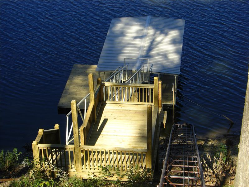 Luxury Lake House with Tram to Your Boat Dock 'The Real McCoy'