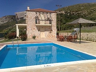 Photo for Peaceful Location With Private Pool, Barbecue, Sea and Mountain Views