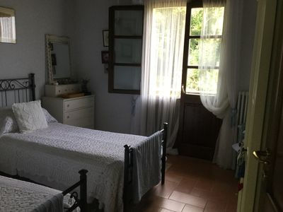 Photo for Twin room with small balcony and bathroom. Great views.
