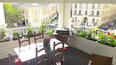 Photo for T3 with free parking and terrace in the heart of Marseille