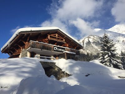 Photo for Luxury 5 Bedroom Chamonix Chalet  - Ski In & Ski Out