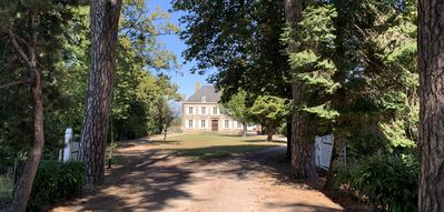 Photo for Beautiful Chateau with heated pool on the edge of a village location