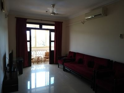 Photo for Sleek 2-Bedroom Apartment at Colva, Goa