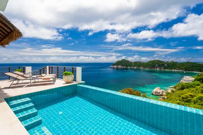 2 6p Luxury Boutique Villa On A Cliff With Sea View And Sunset Daily Cleaning Ko Tao
