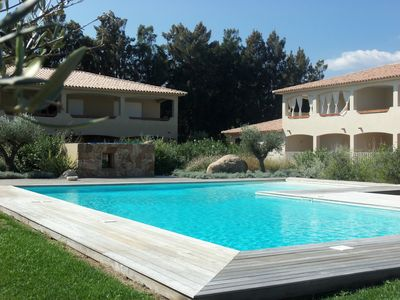 Photo for PORTO VECCHIO - CALA ROSSA - BEAUTIFUL AIR-CONDITIONED APARTMENT 800 M FROM THE BEACH