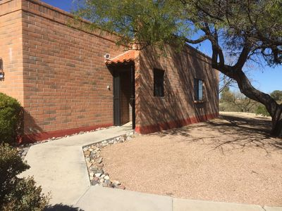 Photo for Desert Hills Casita - Quiet corner unit with golf course and mountain views.