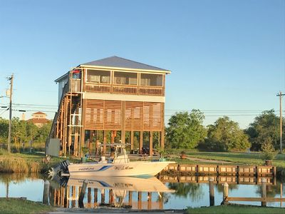 Photo for Waterfront Bay St. Louis House River House With Dock