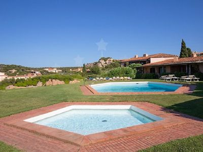 Photo for COSTA SMERALDA FANTASTIC VILLA WITH SWIMMING POOL