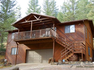 Photo for Cedar Lodge: 'Lodge in the Cedars' With hot tub.