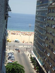 Photo for Copacabana, great conjugado (loft) together and overlooking the beach.
