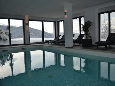 Photo for For 4-6 people, rental with wellness area indoor pool, sauna, fitness