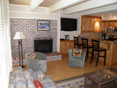 Photo for 357 Ala Wai #209 - Steps To Lake Tahoe with Private Boat Dock and Lake View Deck