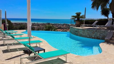 Photo for Villa with panoramic sea view and private pool