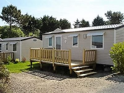 Photo for Mobile Home Family - Camping Le Panoramic