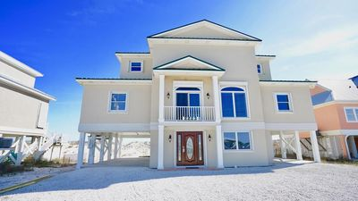 Photo for DIRECT GULF FRONT LUXURY HOME, INCREDIBLE BEACHES, SPACIOUS LAYOUT.