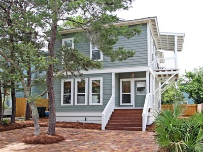 Photo for Terrific 4 BR south of 30A - Pool, Close to Beach, Bikes