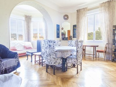 Photo for Near the city center, quiet and bright apartment located in a green area...