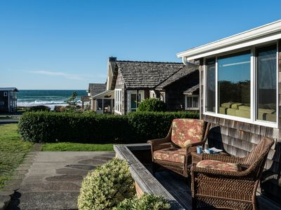 Photo for Exceptional Home with View of Haystack Rock, Steps to Sand, Chef's Kitchen!