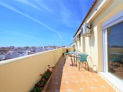 Photo for Beautiful penthouse with A/C in Estepona centre, Estepona old town, 10 minutes walk to the beach