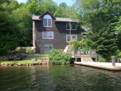 Photo for AMAZING YEAR ROUND VACATION HOME ON LOON LAKE - PET FRIENDLY