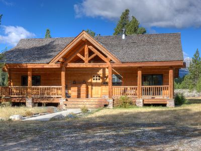 """Photo for """"Little Big Sky"""" Guest Cabin - Your Piece of Big Sky Country"""