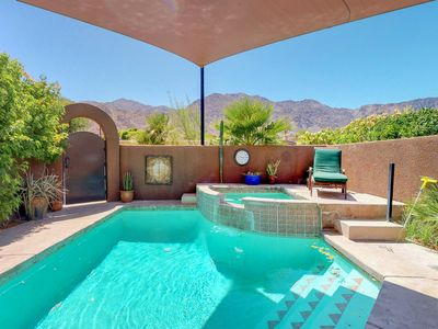 Photo for NEW LISTING! Elegant house with great outdoor space, private pool and spa