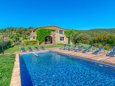 Photo for Can Lledo - Gorgeous spacious hillside villa with stunning views