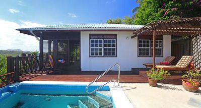 Photo for Orchid Cottage - Ideal for Couples and Families, Beautiful Pool and Beach