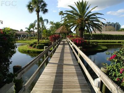 Photo for Gated Waterfront Condo, Across Bridge from Downtown Ft Myers River District