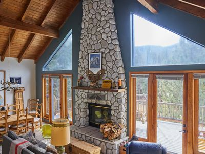 Photo for Stylish and Comfortable 4BR Moonridge beauty w/new spa, national forest views!!!