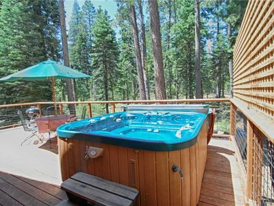 Photo for Beautiful West Shore Location, Private Hot Tub! ~ Property #158