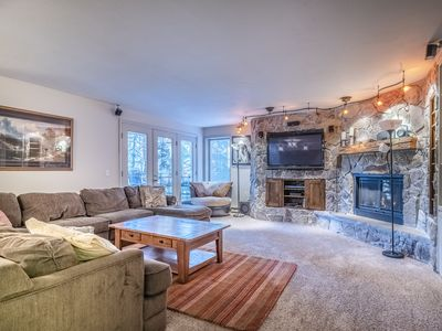 Photo for Ski in Ski out two bed/3 bath at Iron Horse Resort.Sleeps 8 (PRIVATE HOT TUB)