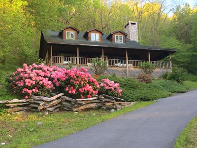 Photo for HeathBrooke Cabin: Casual comfort in the heart of NC's High Country near Boone