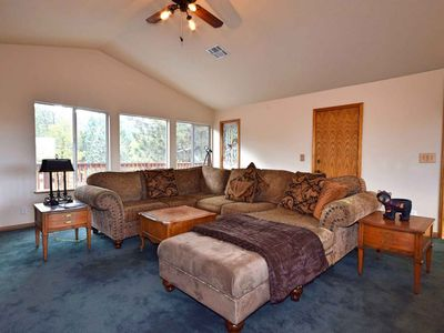 Photo for Mountain Crest Getaway: Mountain & Slope Views! Pool Table! Gas Fireplace! Cable! WiFi!