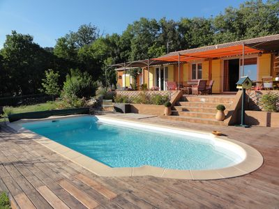 Photo for House with views and Individual Pool in Moissac-Bellevue (near Aups)