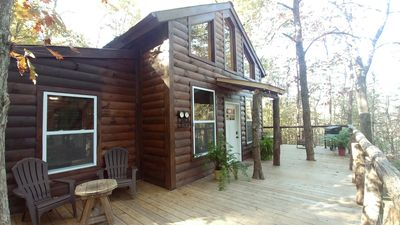 Photo for NEWEST TREEHOUSE in Hocking Hills on 10 Priv Acres. Minutes from Old Mans Cave