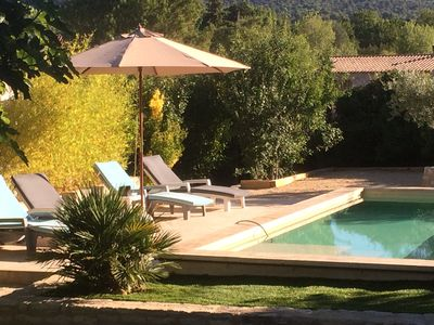 Photo for BEAUTIFUL LITTLE BASTIDON PROVENCAL WITH PRIVATE POOL AND GARDEN IN LOURMARI