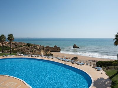 Photo for Beach-City- Pool-A/C, located on cliff top above award winning Dona Ana Beach