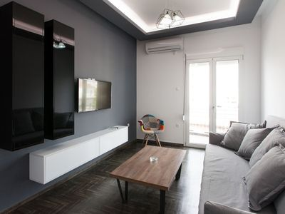 Photo for Renovated 2 bedroom apt in Larissis Railway Station and Metro