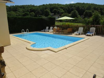 Photo for 500 year old Perigord Farmhouse 5 Bedrooms & private pool