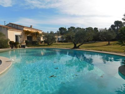 Photo for Charming Provencal farmhouse nestled in a bucolic and authentic setting in Provence