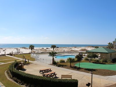 Photo for Beautiful 2BR Gulf Front Condo Reasonably Priced! With Beach Chairs and Umbrella