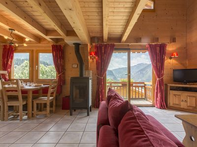 Photo for Chalet 8 people located 10 minutes from the slopes of Grand Bornand and Clusaz