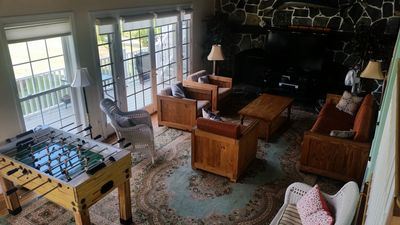 Photo for Spacious Great Room, New Deck, Comfortable Furniture, Easy Beach Access