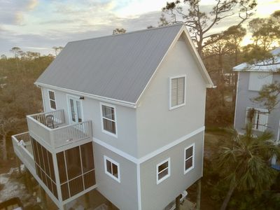 Photo for 5 minute walk to beach, pet friendly!