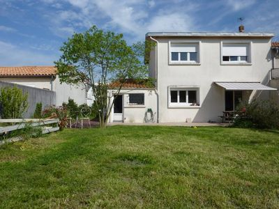 Photo for In La Rochelle, 80 m2 house rental with garden 5-7 people