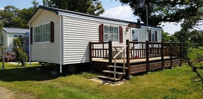 Photo for Camping Le Bois Joli *** - Eco Comfort Mobil Home 3 rooms 4 persons