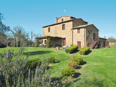 Photo for Vacation home Antico Casale Il Piccione (PIL104) in Pitigliano - 22 persons, 9 bedrooms