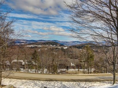 Photo for Lovely ski-in/ski-out condo w/ large deck & beautiful views - walk to village