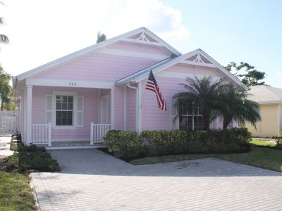Photo for 2012 Olde Florida Style 4 Bedrooms 3 Bath Heated Pool/ Hot Tub